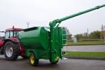 Pašarų priekabos iškrovimo transporteris www.mlvs.info