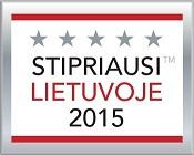 MLVS Stipriausi Lietuvoje 2015