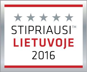 MLVS Stipriausi Lietuvoje 2016