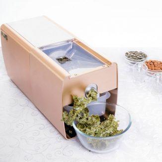 Aliejaus spaudimas iš moliųgų sėklų be luobeles