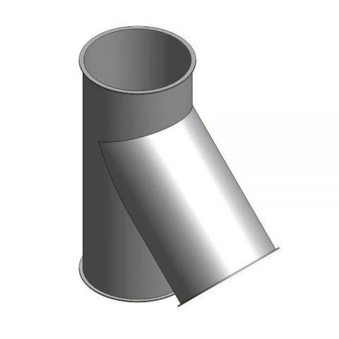 Cinkuoto metalo šakotuvas 1x45