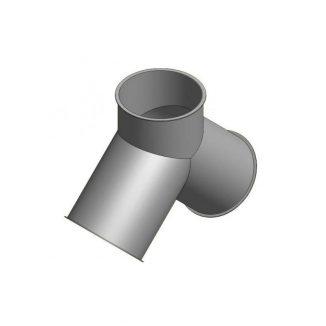 Cinkuoto metalo šakotuvas 2x45