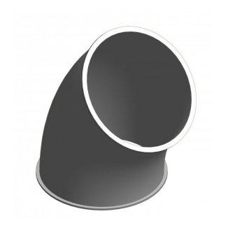 Cinkuoto metalo 45 laipsnių segmentas