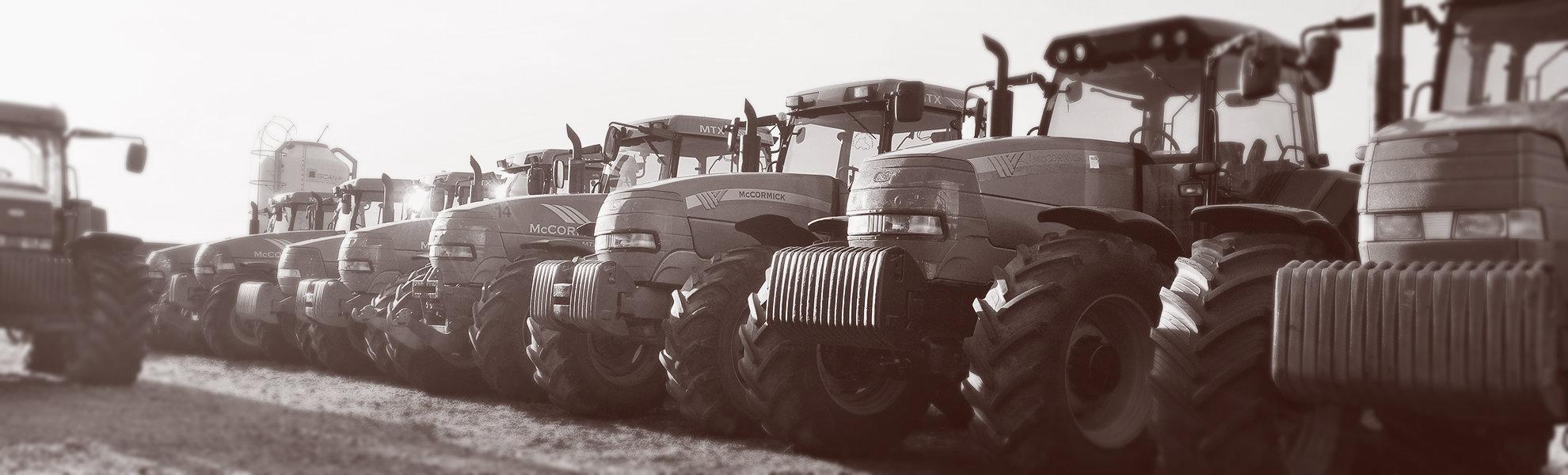 Ilgalaikė ir trumpalaikė traktorių nuoma