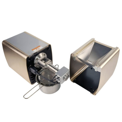Šalto spaudimo buitinis aliejaus MLVS-02 šviesiai auksinės spalvos (šampaninės)