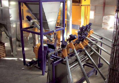 Pramoninės konstrukcijos, efektyvus horizontalūs maišytuvai SKIOLD