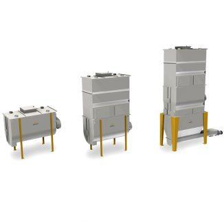 Danų gamybos horizontalūs maišytuvai H2000 IR H2500