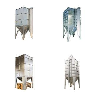 B-M Silo sandėliavimo bokštai