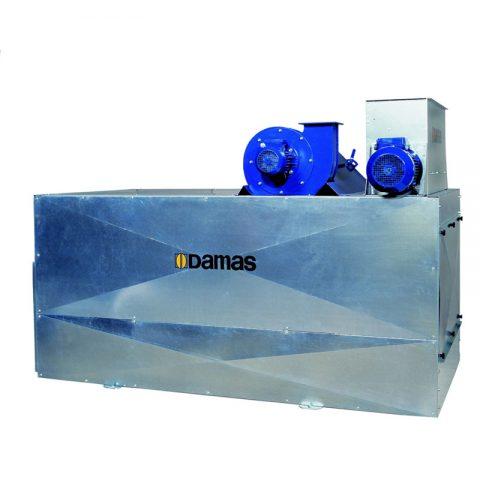 Grūdų valymo mašina Damas UniSeed - DuoSeed