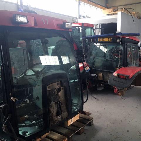 Atsarginės McCormick - Case traktorių dalys - Kabinos