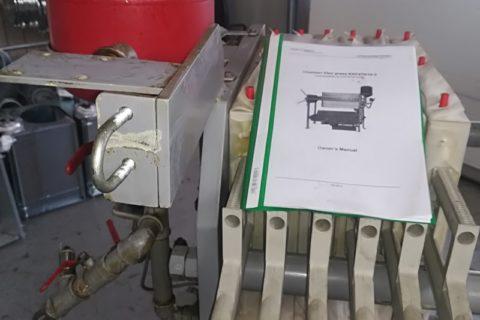 Aliejaus filtravimo įranga Kern Kraft KKF470/10-3