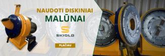 Naudotų daniškų diskinių malūnų SKIOLD prekyba