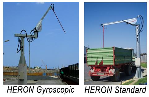 Standartinė ir lanksti Heron mėginių paėmėjų versija