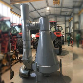 Našus aspiratorius Damas Pulco 120S. Našumas iki 130 t/val.