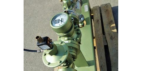 Vokiečių gamybos melasos, aliejaus ir kitų klampių skysčių dozavimo įrenginys