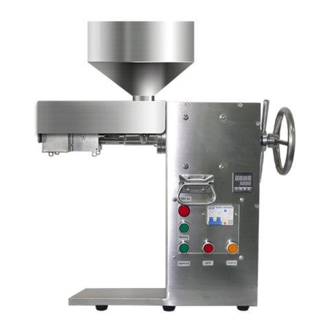 Komercinės paskirties aliejaus presas MLVS-10 su reguliuojama kaitinimo temperatūra