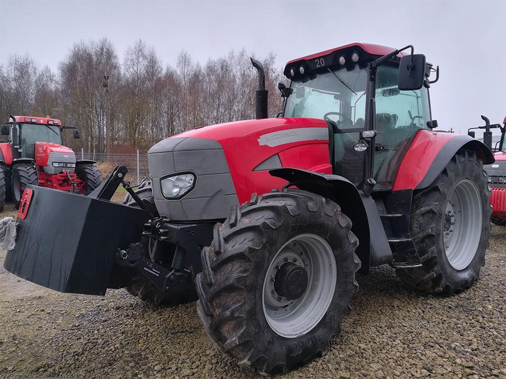 Išnuomotas traktorius