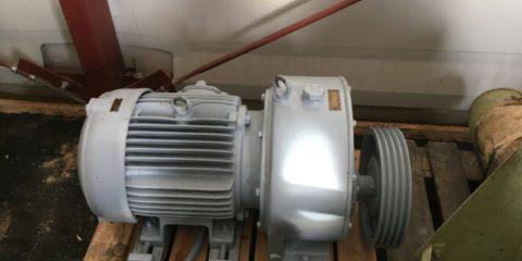 Naudotas vokiškas 7 kw variklis su reduktoriumi