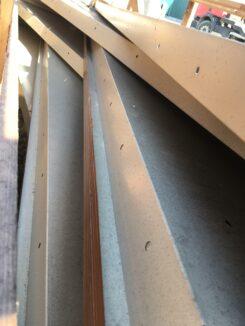 Vokiški apvalūs surenkami skardiniai stogai