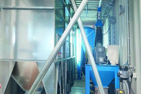 Mobili pašarų gamybos linija