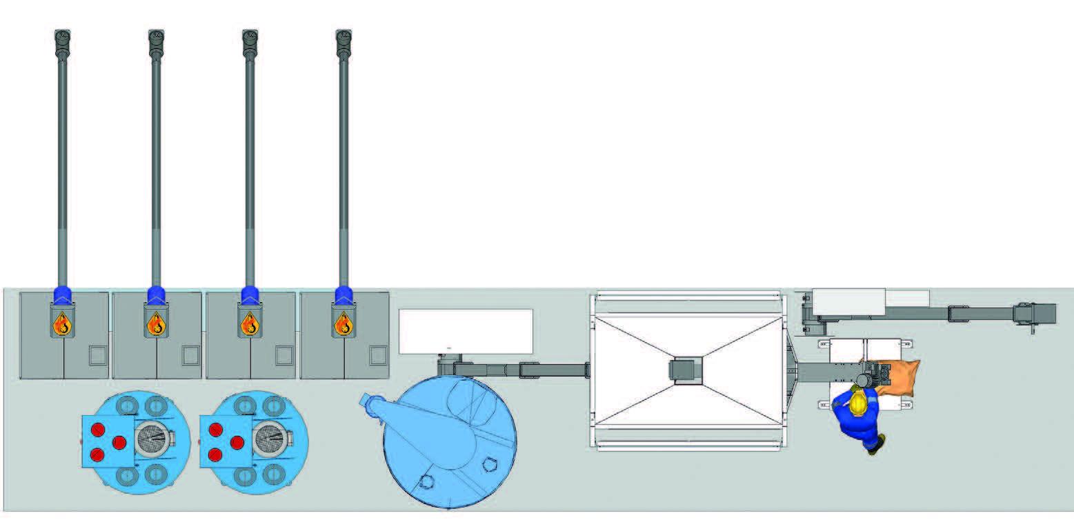 Mobili pašarų gamybos linija HIMEL