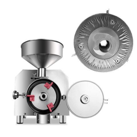 Universalus sausų produktų malūnas MLVS-UM50 ir jo malimo diskai